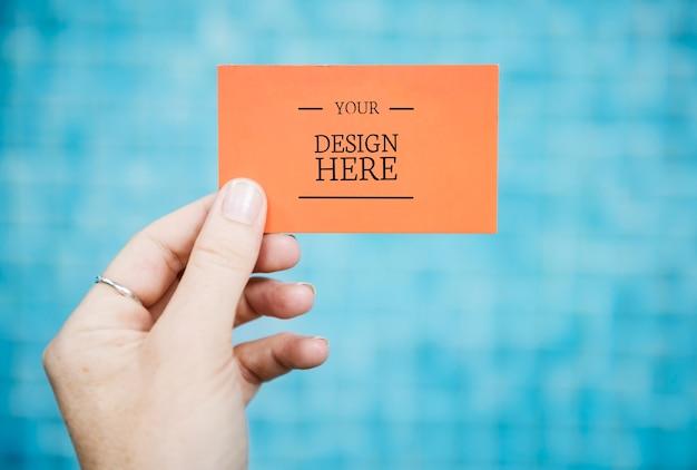 Modello di biglietto da visita Psd Gratuite