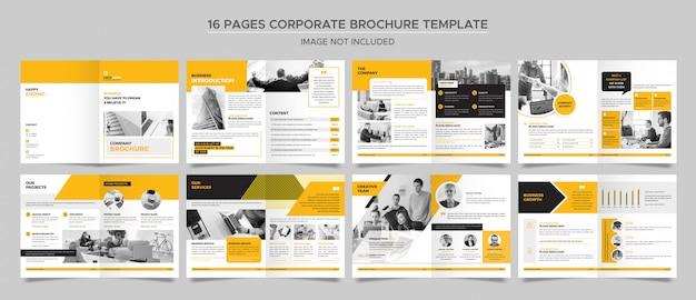 Modello di brochure aziendale Psd Premium