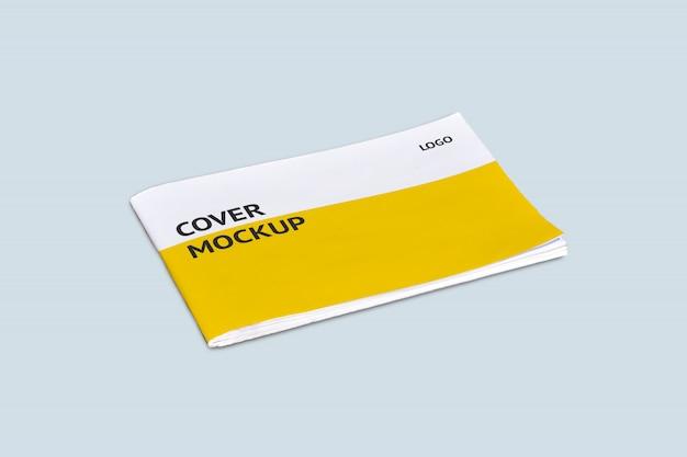 Modello di copertina di paesaggio mock-up Psd Premium