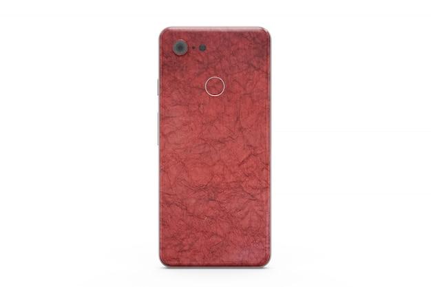 Modello di pelle smartphone isolato Psd Gratuite