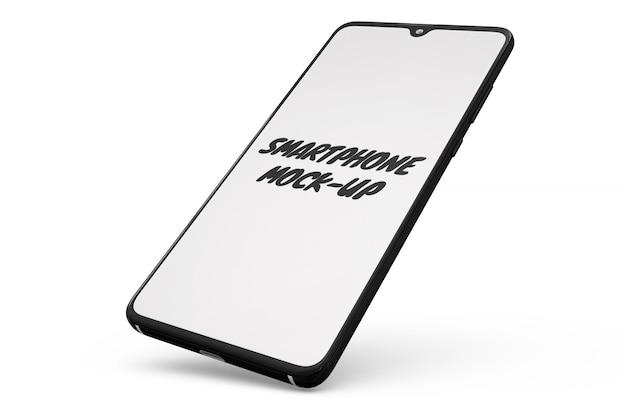 Modello di smartphone isolato Psd Gratuite