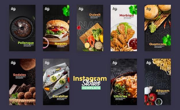 Modello di storia di instagram per ristorante Psd Gratuite
