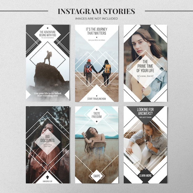 Modello di storia instagram minimo Psd Premium