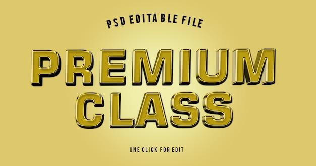 Modello dorato di struttura di alfabeto 3d Psd Premium