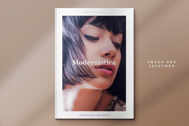 Modern tijdschriftmodel Premium Psd