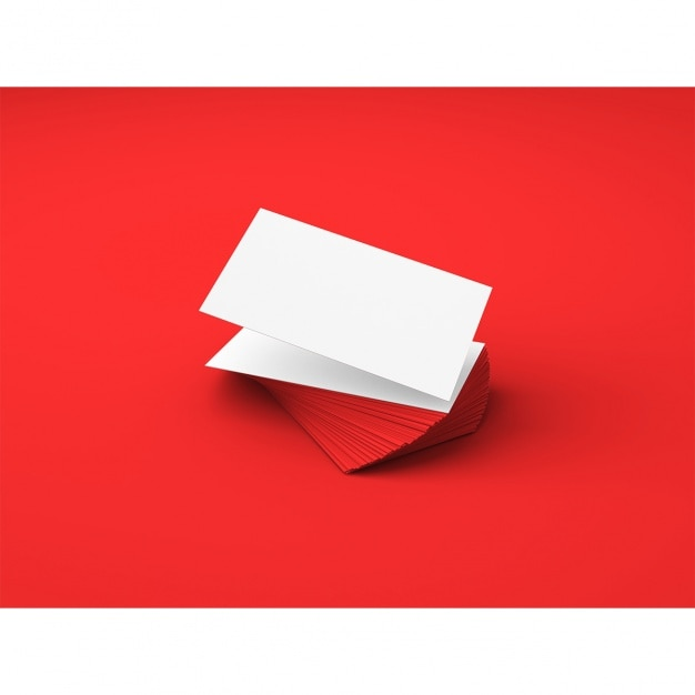 molde dos cartões Psd grátis