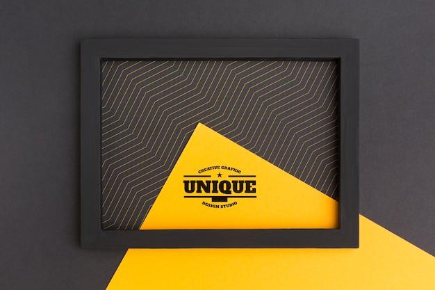 Mooi frame concept mock-up Gratis Psd