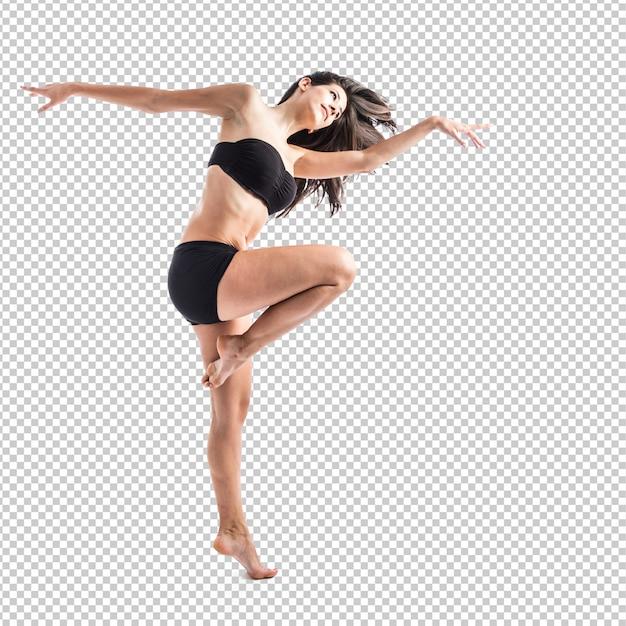 Mooie fitness vrouwelijke poseren Premium Psd