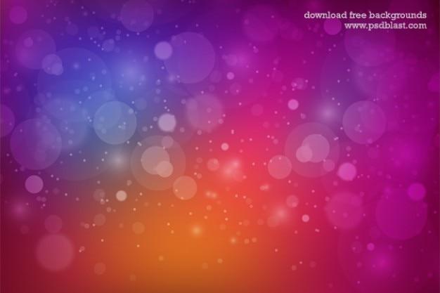 Multi sfondo colorato con le bollicine Psd Gratuite