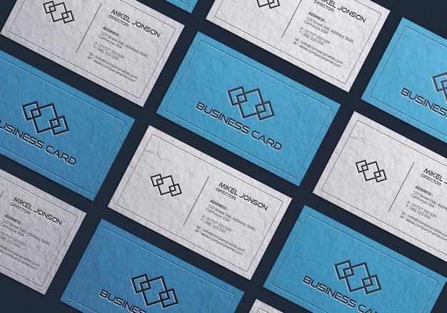 Multi-stijlen visitekaartje mockup Premium Psd