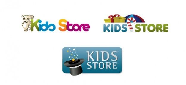niños logo plantilla de diseño para la tienda en línea | Descargar ...