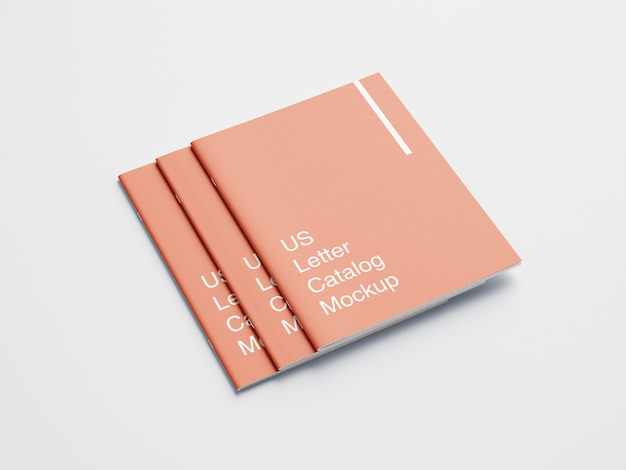 Ons briefomslagboek of tijdschriftmodel Premium Psd