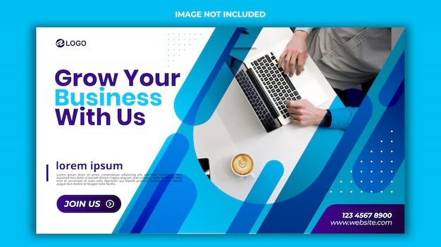Ontwerp van bannermalplaatje psd Premium Psd