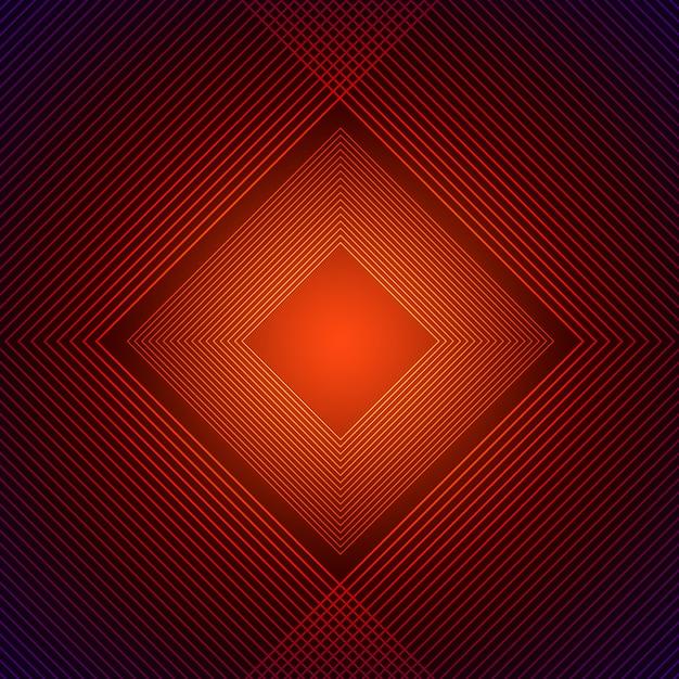 Oranje rhombus achtergrond Premium Psd