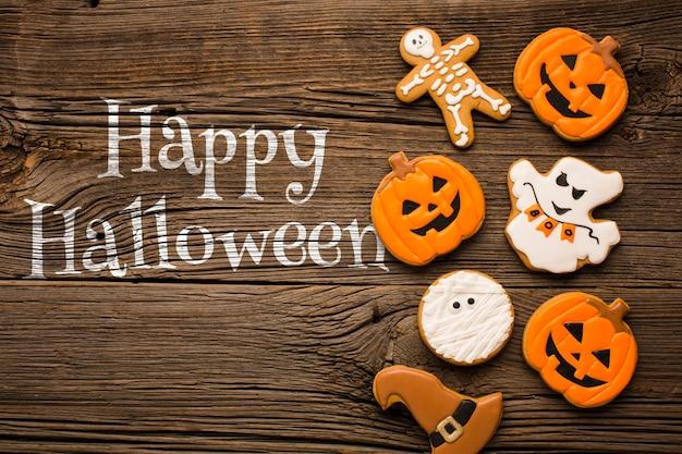 Ossequi specifici per il giorno di halloween Psd Gratuite