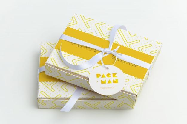 Packaging mock up di progettazione Psd Premium