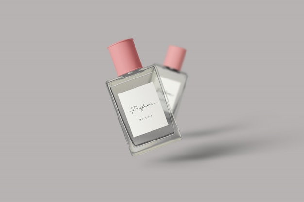 Parfum mockup Premium Psd