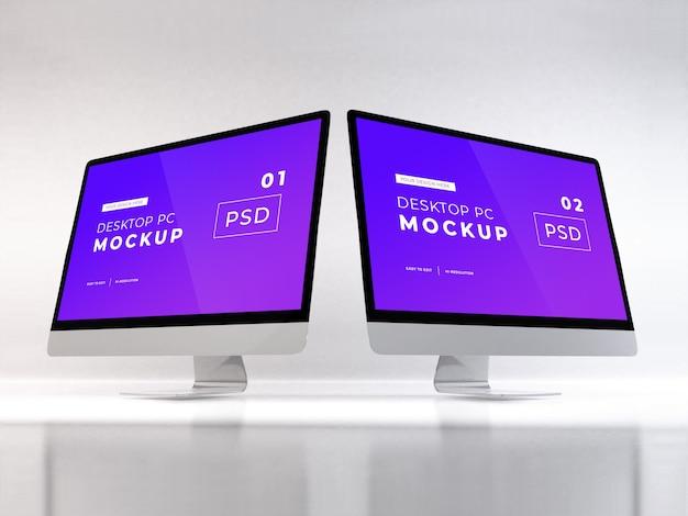 Personal computer realistico Psd Premium