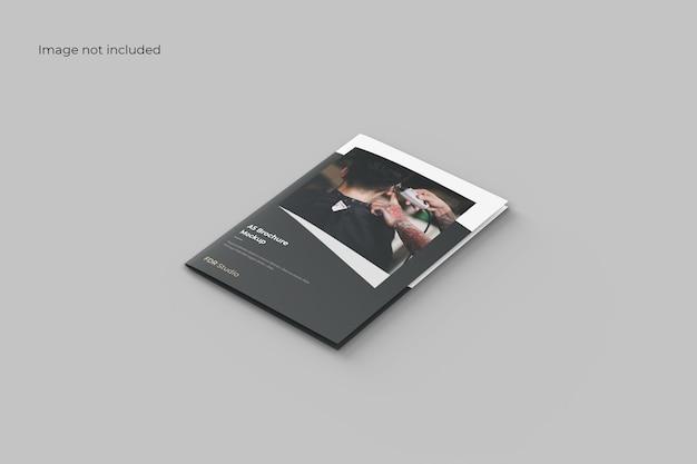 Perspectief tweevoudig brochuremodel Premium Psd