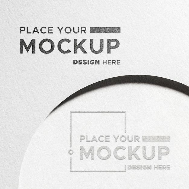 Plaats hier uw ontwerp Premium Psd