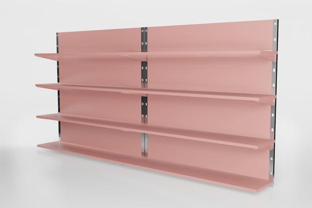 Plankmodel voor productplaatsing in 3d-rendering illustratie Premium Psd