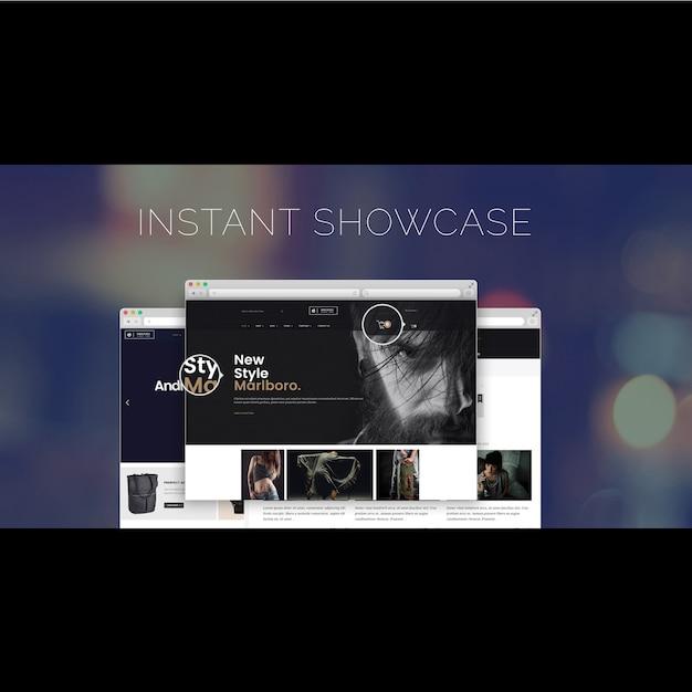 Plantilla de diseño de página web | Descargar PSD gratis