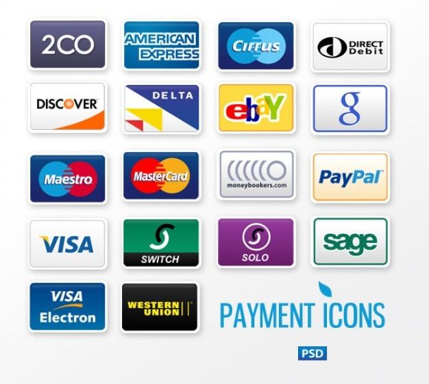 Plantillas De Tarjetas De Crédito Comerciales Psd Archivo