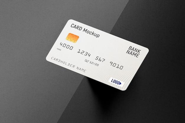 Plastic creditcardmodel Premium Psd