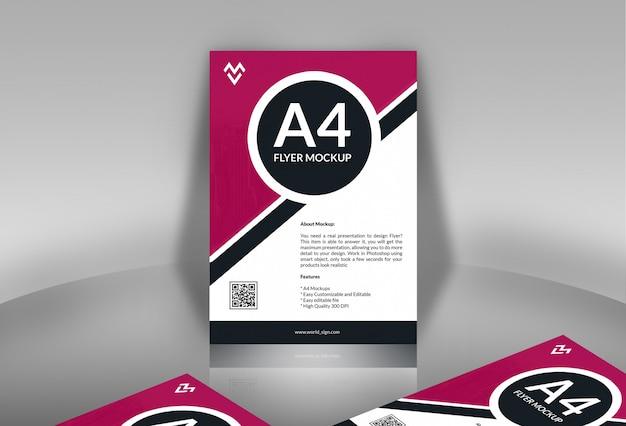 Poster / flyer mockups Psd Premium