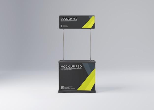 Promozione stand mockup Psd Premium