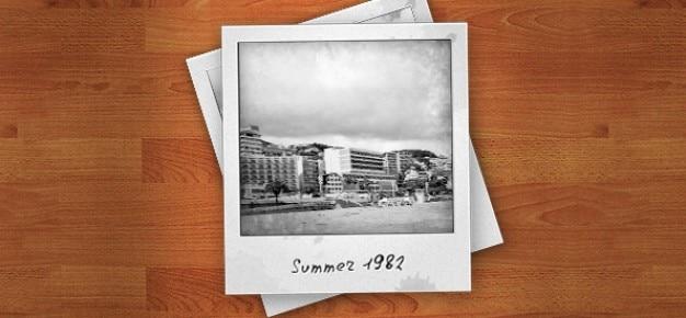 Psd foto polaroid frames | Descargar PSD gratis