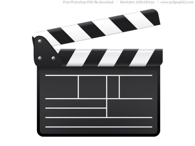 Psd pel cula tablilla icono descargar psd gratis - Clipart cinema gratuit ...