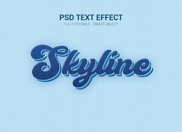 Psd-teksteffect Premium Psd