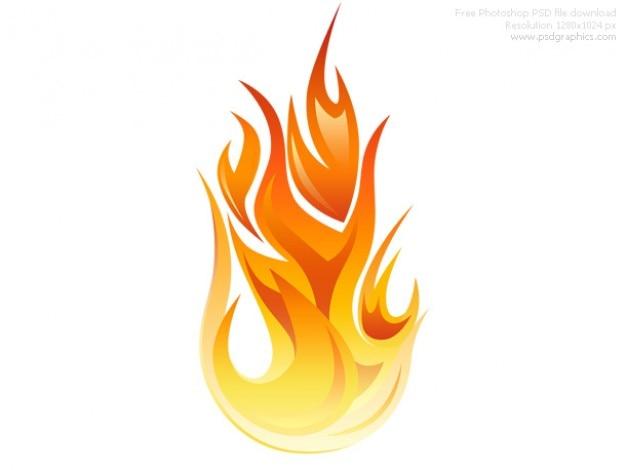 Psd vlam icon Gratis Psd