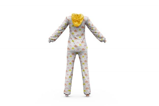 Pyjama mock-up geïsoleerd Gratis Psd