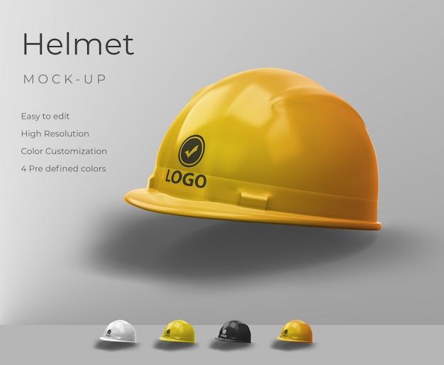 Realistisch helmmodel Premium Psd