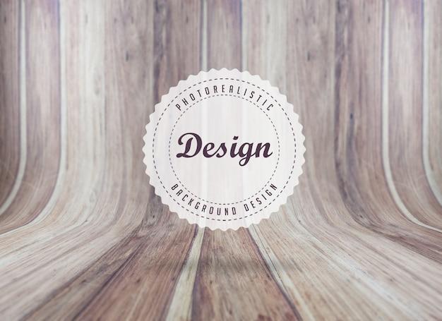 Realistische woodboard textuur achtergrond Gratis Psd