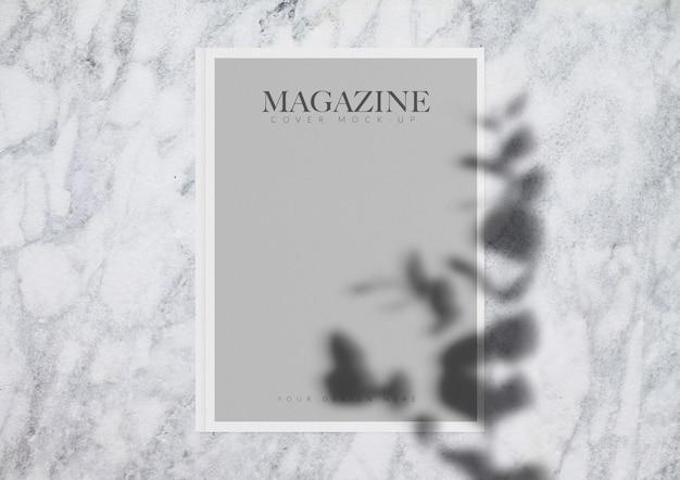 Revista maqueta PSD gratuito