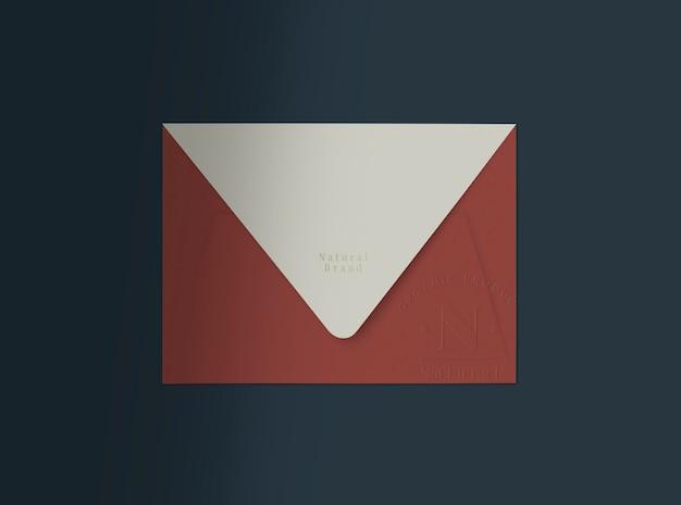 Rode envelop Gratis Psd