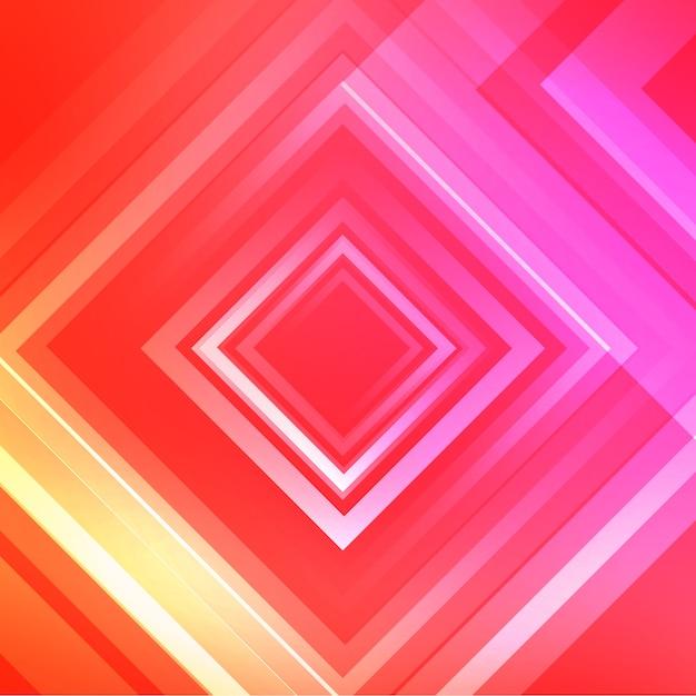 Roze rhombus achtergrondontwerp Gratis Psd