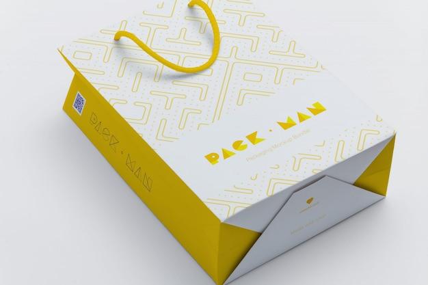 Sacchetto del regalo mock up di progettazione Psd Premium