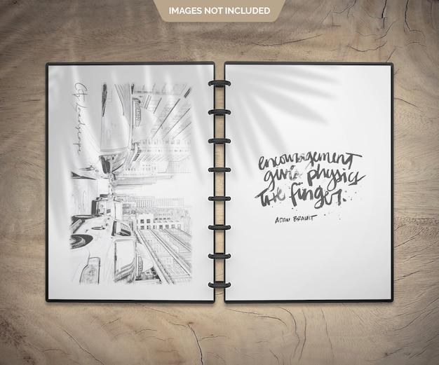 Schetsboek Premium Psd