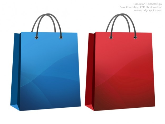 Shopping bag icona Psd Gratuite