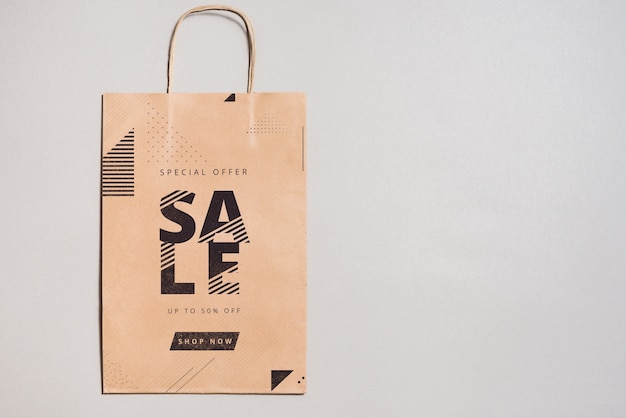 Shopping bag mockup Psd Gratuite