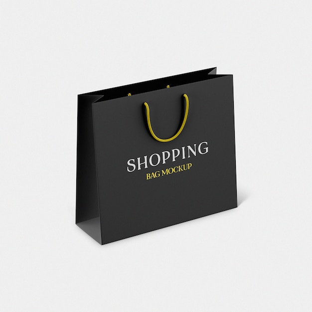 Shopping bag psd mockup Psd Premium