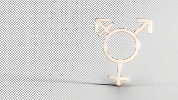 Simboli di identità di genere - bi 2 Psd Premium