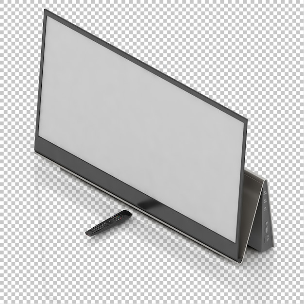 Smart tv isometrica Psd Premium