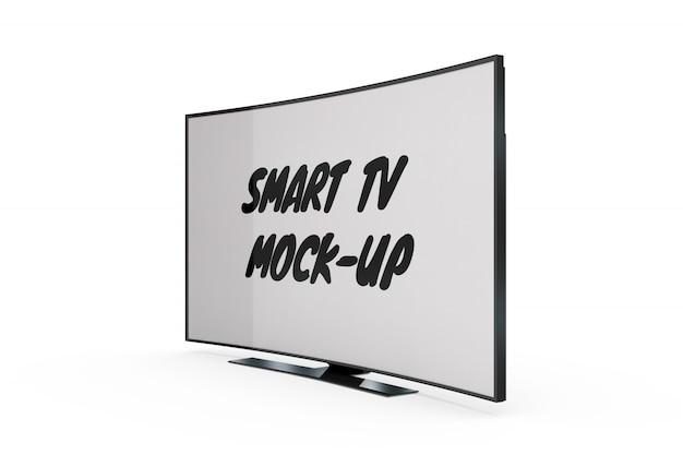 Smart tv mock-up isolato Psd Gratuite