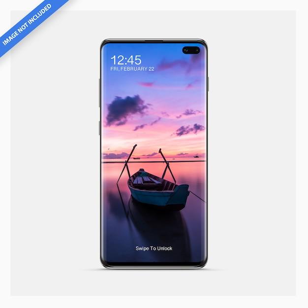 Smartphone android mockup Psd Premium