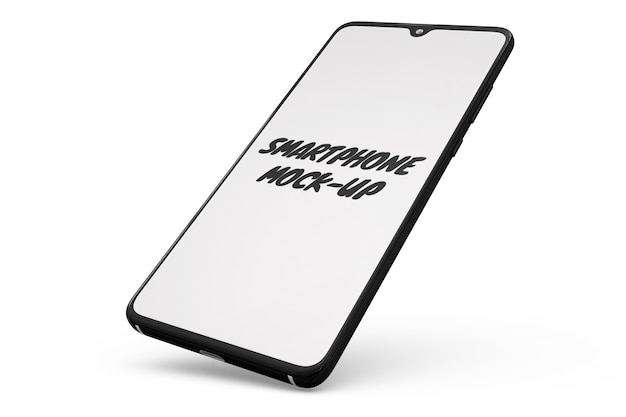 Smartphone maqueta aislada PSD gratuito